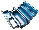 BGS 3300 | Montage-Werkzeugkoffer | 430 x 200 x 200 mm | 5 Fächer | Stahlblech