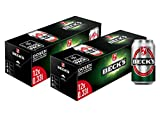 BECK'S Pils Dosenbier Fridgepack - Dosenpack EINWEG (2 x 12 x 0.33 l)