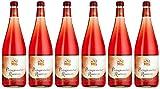 Peter Mertes Portugiesischer Rose (6 Flaschen), 6er Pack (6 x 1 l)