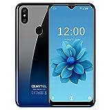 OUKITEL C15 Pro (3+32GB) - 4G LTE Smartphone Ohne Vertrag Handy 2019 Android 9.0-6,1' 19:9 Wassertropfen Bildschirm, 3200mAh Akku, 2.0GHz, 2.4G/5G WiFi, Dual SIM Face ID + Fingerabdruck
