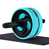 YDHWT Automatische Rebound und Multiple Angles Core-Workouts, Ab Roller-Rad for Bauch-Übung Fitness Crunch Trainingsgeräte for Heim Workouts