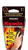 RAKSO Glas-Reiniger für Kamin-Scheiben Ofenglasreiniger Schwamm Kaminreiniger Kamin-Ofen und Kaminscheibenreiniger 1St