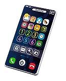 Kurio DES12550 Tech-Too Mein erstes Smartphone, Kindertelefon mit 4 Spielmöglichkeiten, Zahlen 1-6 und Sound, weißes Spieltelefon für Babys und Kleinkinder ab 12 Monate