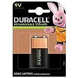 Duracell Recharge Ultra 9 V Batterien, 1er Pack