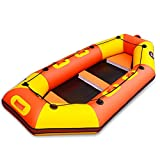 Kanu aufblasbar Sitzkajaks Berufsantrieb-Boot verdicktes ledernes Kajak-aufblasbares Fischerboot-hartes unteres Gummiboot-Angriffsboot-Antriebsboot Kanu Mit Paddel Wassersport