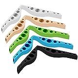 TGXL Nebelfreies Zubehördesign Für Brillen Anti-Fog-Nasenbrücken-Silikon Verhindert, DASS Brillen Beschlagen Und Dämpfen 5 STÜCKE/Stil A
