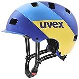Uvex Unisex– Erwachsene, hlmt 5 bike pro Fahrradhelm, blue energy mat, 58-61 cm