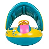 Schwimmhilfen Aufblasbares Kinderboot Beach Sommer Hingucker für Wasserspaß Familienspaß in See Meer & Schwimmbad