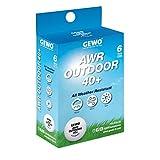 GEWO AWR Outdoor Tischtennisball 40+
