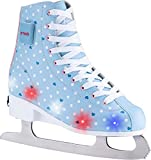 X-TECH ICE STAR LED Schlittschuh lightblue/pink/white, 31-34