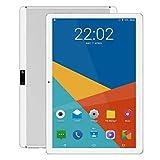 Android Tablet 10 Zoll, 5G Wi-Fi, Octa -Core Prozessor, Android 9.0, 4GB RAM, IPS HD Display, 3G Phablet mit Dual SIM Card Slots, Bluetooth, GPS, 5000 mah Akku, E2 (Silber)
