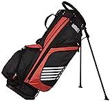 AmazonBasics Golf-Tasche mit Standfunktion, Rot