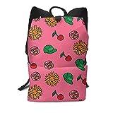 Homebe Rucksäcke,Daypack,Schulrucksack Für Jungen und Mädchen, The Cherry Runaways Bomb School College Bookbag for Girls Boys Fashion Travel Back Pack