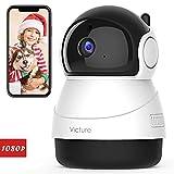 Victure 1080P FHD WLAN IP Kamera, Überwachungskamera mit Nachtsicht, Bewegungserkennung, Zwei-Wege-Audio, Innenkamera, Monitor-Baby/Haustier/Haus