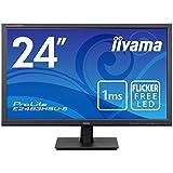 iiyama ProLite E2483HSU-B5 61cm (24') LED-Monitor Full-HD (VGA, HDMI, DisplayPort, USB2.0) schwarz
