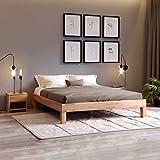 Krok Wood Massivholzbett Jana in Buche (100 x 200 cm)