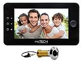 prsTECH® DoorCAM DC1 PLUS Wide Screen, Digitaler-Türspion 4,3 Zoll LCD Display für Türstärken von 38-110mm