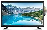 DYON Sigma 24 DVD (24 Zoll, HD) LED-TV (Triple Tuner, DVD-Player)