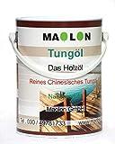 Tungöl 5 Liter | 100% reines Naturöl | Holzöl für Innen und Außen