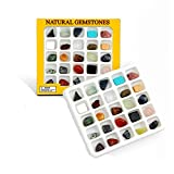 Dr. Daz Edelsteine Naturstein Set Heilstein Set mit 25 Natural Gemstones
