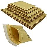 200 Stück Luftpolsterumschläge in braun - 1/A - (120 x 175) - Luftpolstertaschen/Versandtaschen - elb-verpackungen