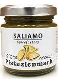 100% reines Pistazienmark aus Bronte, zum Backen, zur Eisherstellung, Pistazieneis Basis, als Pistazienpesto, 100% Pistazienkerne, hergestellt in Italien | Saliamo