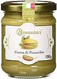 Brontedolci, Pistaziencreme ELITE mit 40% Pistazien DOP Bronte, 190g.