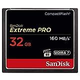 SanDisk Extreme Pro CompactFlash 32GB Speicherkarte (bis zu 160MB/s lesen)