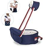 Babytrage Rucksack mit abnehmbaren Hipseat Infant Rucksack Front Carrier Ideal für Kleinkind Carrier, Baby Holder