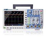PeakTech 1341 – 4-Kanal Speicher-Oszilloskop 100 MHz - Max. 1 GS/s mit USB, LAN Schnittstelle & 8' Hochauflösendes TFT Farbdisplay, Speichertiefe 40 Mio. Punkte, FFT- & XY- Modus, DSO