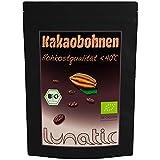 BIO Kakaobohnen Roh, Unfermentiert, Ohne Haut 1kg