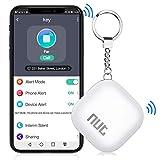 BEBONCOOL Schlüsselfinder, Key Finder Unterstützen iOS/Android, Schlüssel Finder mit Bidirektionalem Alarm/Silent Mode, Multifunktionaler NUT Keyfinder, Smart One Touch Find Schlüsselfinder GPS