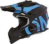 O'NEAL | 2SRS Helmet SLICK | black/blue | Größe L (59/60cm)