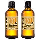 Naissance Eukalyptusöl (Eucalyptus Globulus) (Nr. 101) 200ml (2x100ml) 100% naturreines ätherisches Öl