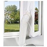 Comfee Fensterabdichtung Hot Air Stop für mobile Klimageräte und Abluft-Wäschetrockner, weiß, 10000356