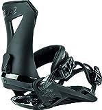 Nitro Snowboards Herren Zero '20 All Mountain Freestyle günstig Bindung Snowboardbindung, Ultra Black, M