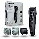 Panasonic ER-GB62-H503 Bart-/ Haarschneider mit 39 Schnittstufen, Bartschneider für Herren, inkl. Body-Trimmer, Pflege für Körper