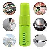 hinffinity Antibeschlag-Spray für Brillen, Schwimmen, Paintball und Tauchzubehör, Schwamm für Tauchmasken/Schwimmbrille (10 ml)