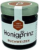 Buchweizenhonig 100% Deutscher Blütenhonig [1 x 250 Gramm] Honig Buchweizen ursprünglicher und natürlicher Honiggenuss vom Honigprinz