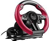 Speedlink TRAILBLAZER Racing Wheel - Lenkrad für Playstation 4, PS3 und PC (Minimale Schaltzeiten - Status-LEDs - dosierbare Pedale), schwarz/rot