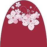 AFP Winterschutz Vlieshaube Blüte dunklerot/rosé Gartenvlies atmungsaktiv - Frostschutzhaube/Kübelpflanzensack/Pflanzen überwintern/Gartendeko – 2 Jutesäckchen gratis