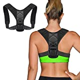 GYL Hong Yuan Haltungskorrektur für Männer und Frauen, Rückenstütze Haltungstrainer,Verstellbar Atmungsaktiv Haltungstrainer Geradehalter Körperhaltung und Unterstützung