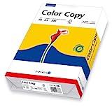 Papyrus 88007863 Drucker-/Kopierpapier, Farblaserpapier: ColorCopy 90 g/m² DIN-A4, 500 Blatt, hochweiß, hochglatt
