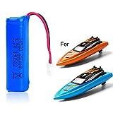GizmoVine 3.7V 650mAh Batterie RC Boots Batterie Lion Batterie für H130 Ferngesteuertes Boot RC Boot