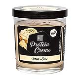 nu3 Fit Protein Creme weiße Schokolade - 200g Aufstrich mit feiner Vanille-Note - mit 21% Eiweiß & ohne Zusatz von Zucker - alternative zu Schoko-Creme aus dem Supermarkt - Glutenfrei & ohne Palmöl