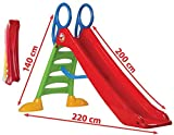 thorberg Rutsche Kinderrutsche Gartenrutsche groß 200cm Rutschbahn (EU Ware)