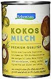 Reformhaus Kokosmilch, Bio, 6er Pack (6 x 400 g)