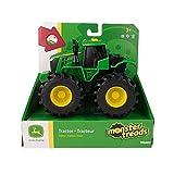 Traktor, John Deere Monster Treads mit Licht & Sound in Grün, Spielzeug Traktor mit Licht und Sound Effekten, Zum Spielen und Sammeln, Geschenke für Kinder, Spielzeug für Kinder ab 3 Jahren