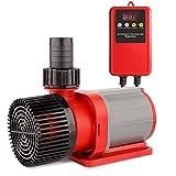 FREESEA Wasserpumpe Filter-/Teichpumpe DC-Frequenz 24V, 7000 L/H Hi-Flow 50W, Ansaughöhe 6m