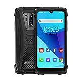 Blackview BV6900 (2020) Outdoor Smartphone ohne Vertrag - 5.84 Zoll FHD+ 16MP+8MP Quad-Kamera, 16MP Selfie-Frontkamera, 64GB ROM + 4GB RAM, Helio P25 Octa-Core Dual-SIM 5580mAh Android 9.0 Handy